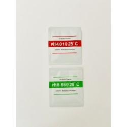 ΡΥΘΜΙΣΤΙΚΟ ΔΙΑΛΥΜΑ ΣΕ ΣΚΟΝΗ (BUFFER) ΓΙΑ  pH 4.01 & 6.86 (2 φακελάκια)