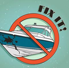 Επισκευή σκάφους